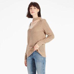 Lucky Brand Dakota Cut Out Knit Sweater